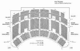 Fox Theater Atlanta Seating Chart With Seat Numbers Seats Online Charts Collection
