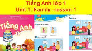 TIẾNG ANH LỚP 1-UNIT 1: FAMILY/LESSON 1-SMART-START. | Học tiếng Anh online  hiệu quả nhất.