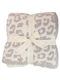 Barefoot Dreams Leopard Throw Blanket