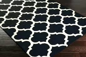 checd area rug black and white elegant kitchen red blue c