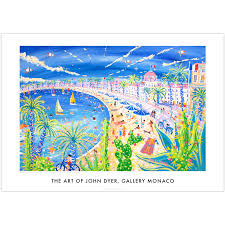 john dyer art poster print gallery monaco range it is very nice in nice