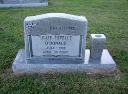 Lillie Estelle Dunn O'Donald (1918-2000) - Find A Grave Memorial