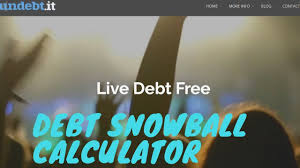 debt snowball calculator free undebt it review debt snowball calculator free debt snowball