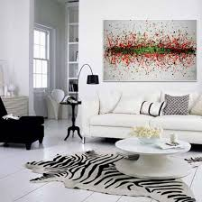Paintings For Walls Of Living Room Living Room Decorative Painting Modern Sofa Background Flower