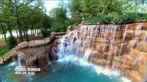 Diy Pool Waterfall Pool Kings On Diy Network Monday May 29th California Pools
