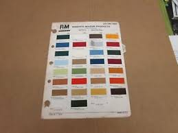 Details About 1976 76 Ford Truck F150 F250 Bronco Pickup Paint Color Chip Chart Sheet Sample