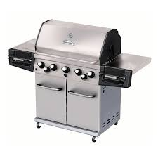 Master Forge Outdoor Kitchen Shop Master Forge 5 Burner Stainless Steel Gas Grill At Lowescom