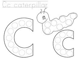 Polka Dot Letters Coloring Pages Letter Hard Connect The Dots G