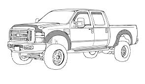 ford truck coloring pages 6