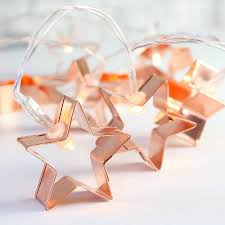 Copper Star Fairy Lights Pin On My Room