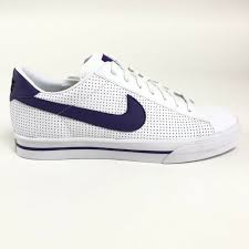 nike sweet classic leather black navy white casual shoes 318333 092 mens size 11 for