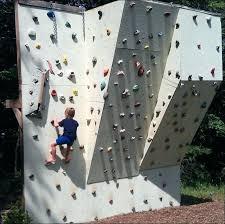 outdoor rock climbing wall backyard rock wall how to build a backyard rock climbing wall outdoor