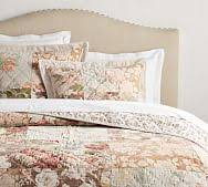 neena patchwork quilt & sham | Pottery Barn & Carolina Floral Patchwork Reversible Quilt & Sham Adamdwight.com