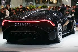 'la voiture noir' is french for 'the black car', a reminiscence of the type 57 sc atlantic, says bugatti, and best describes the glossy black finish chosen for the the la. Just One Bugatti La Voiture Noire Exists And It S Priced At 16 7 Million Techeblog