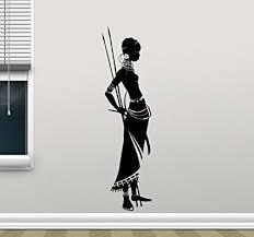 african girl wall art