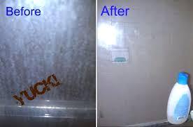 diy glass shower door cleaner keeping a glass shower door clean for 6 months best diy
