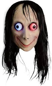 molezu <b>Creepy Mask</b>, <b>Scary</b> Challenge <b>Games</b> Evil Latex <b>Mask</b>