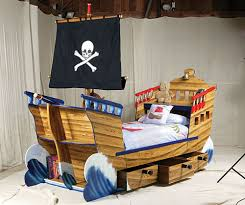 Pirate Bed & Trundle