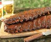 apple  bacon barbecued ribs