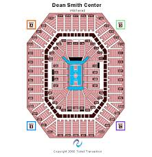 Dean E Smith Center Seating Chart
