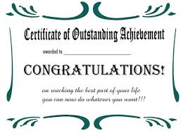 printable certificates and awards to include in your gift basket printable retirement certificates