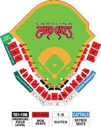 Five County Stadium Seating Chart Carolina Mudcats Stadium Seating Chart Thevbsc