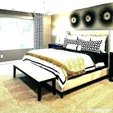 Grey Black And White Bedroom Black White And Gold Bedroom White And ...