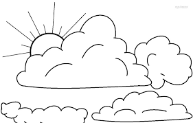 Small Picture Printable Cloud Coloring Pages For Kids Cool2bKids