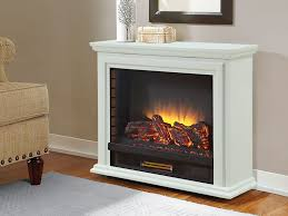 sheridan infrared rolling electric fireplace white glf 5002 50