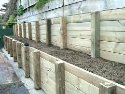 retaining wall timbers timber retaining wall design timber retaining wall park timber pole retaining wall design