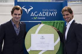 RETIREMENT. Federer would like to teach tennis with the Rafa ...