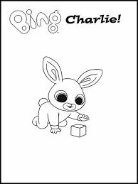 Bing Bunny Da Colorare 1