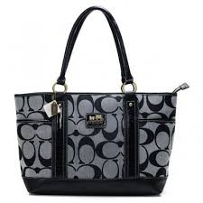 Coach Madison In Signature Large Grey Totes   Shoes and accessories    Pinterest   Gray, Purse and Beautiful handbags