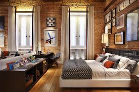 Bedrooms With Exposed Brick Walls Part 42 Staradeal Com Exposed Brick Studio Apartment New York