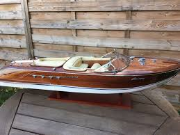 motorised riva aquarama special model of 67 cm precious wooden boat model
