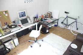 graphic design home office. The Home Office Of FixedShitUp Is All About Toys For Boys With DJ Gear Stacked Screens And Plenty Visual Inspiration Though His Bulletin Board Graphic Design H