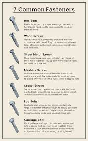 7 Types Of Screws Every Homeowner Should Know About Common