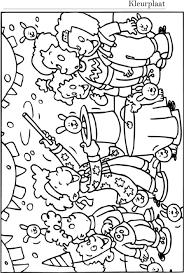 Kleurplaat Paasklok F U N K I D I Kleurplatenlcom