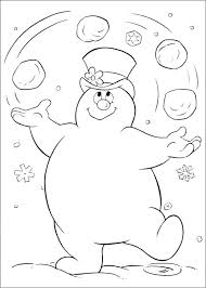 Template Of A Snowman Snowman Coloring Template Seophpdirectory Info