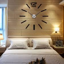 Decorative Wall Clocks For Living Room Anself Home Diy Decoration Large Quartz Acrylic Mirror Wall Clock