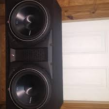 speakers in box. rockford fosgate p3 speakers in box e