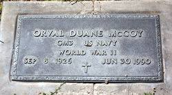 Orval Duane McCoy (1926-1990) - Find A Grave Memorial