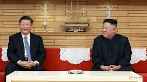 Image result for xi jinping kim jong un