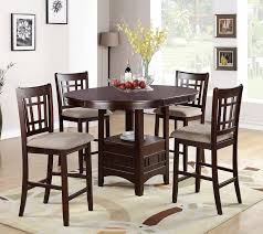 dining room table height. 5 piece counter height dining set room table s