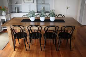 custom made dining table bentwood chairs 6 jpg