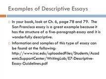 paragraph descriptive essays a separate peace thesis online 5 paragraph descriptive essays