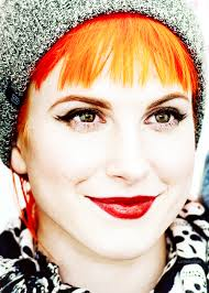 that eye makeup though hayley williams