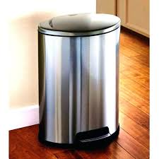 metal kitchen garbage cans black garbage cans black gallon trash can stainless steel kitchen cans and