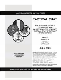 Mttp Tactical Chat