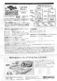 ジャパンカップ2017東京大会3dレポート Tea League ミニ四駆ラジ四